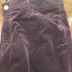 Ann Taylor Loft Womans Cordory Pants Boot Sz 18